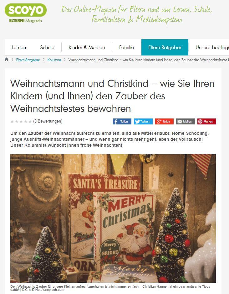 Weihnachtsmann und Christkind – wie Sie Ihren Kindern (und Ihnen) den Zauber des Weihnachtsfestes bewahren