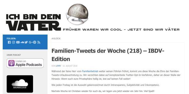 """""""Familien-Tweets"""": """"Ich bin dein Vater""""-Urlaubsvertretung"""