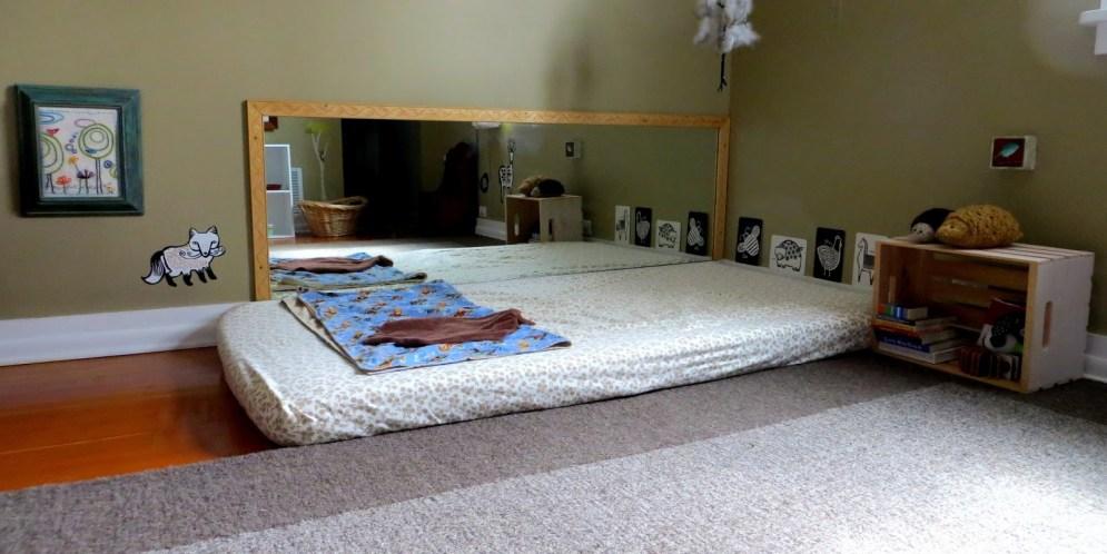 Chambre Montessori rétro