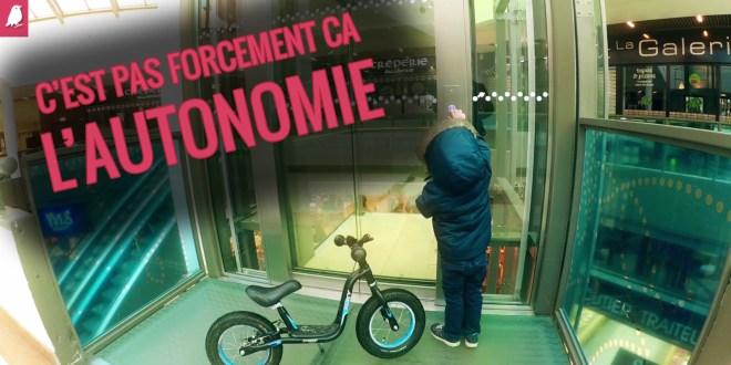 Autonomie chez l'enfant