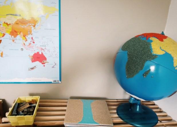 globe montessori