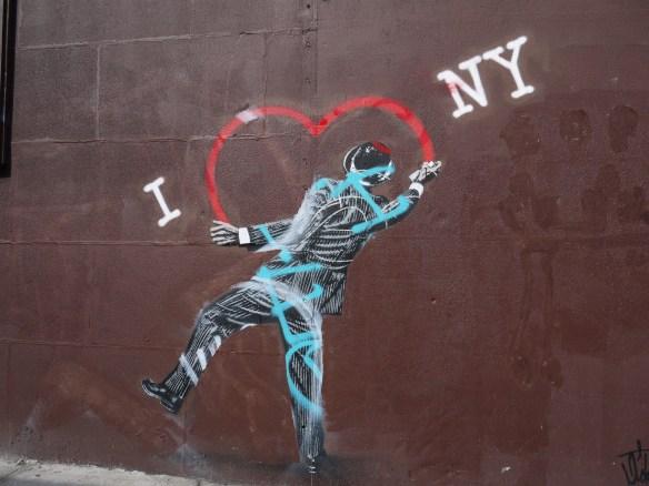 Peinture murale dans East Village