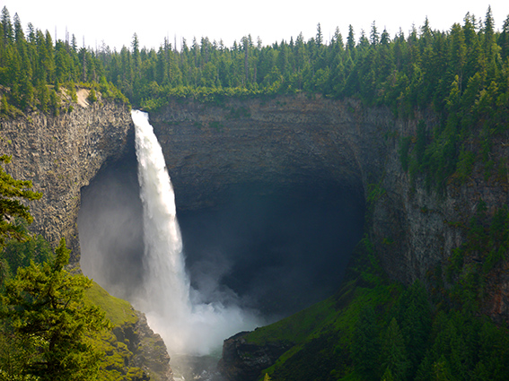 Helmcken falls, Wells Gray