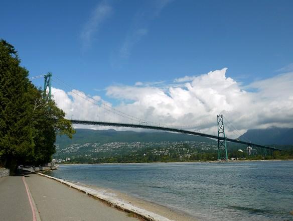 Vancouver, Lions gate bridge