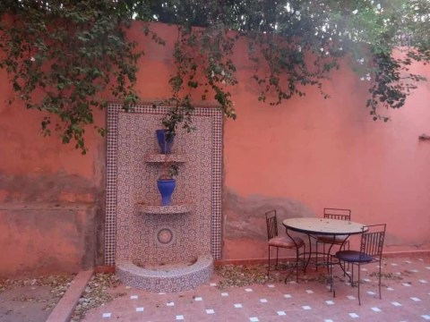 Patio appartement Marrakech