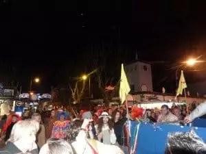 Pendant le carnaval à Chipiona avec la famille nomade