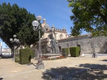 la famille nomade est à Jerez de la Frontera