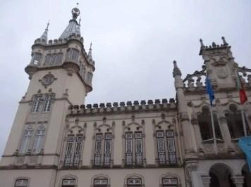 Sintra et son palais avec la famille nomade en avril 2014