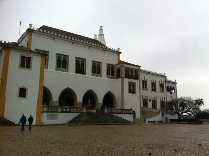 Sintra au portugal avec la famille nomade digitale