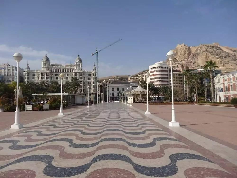 Notre vie nomade en Espagne-Alicante en fevrier_famille nomade digitale