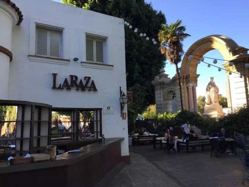Une pause rafraichissante au Laraza dans un cadre idylique