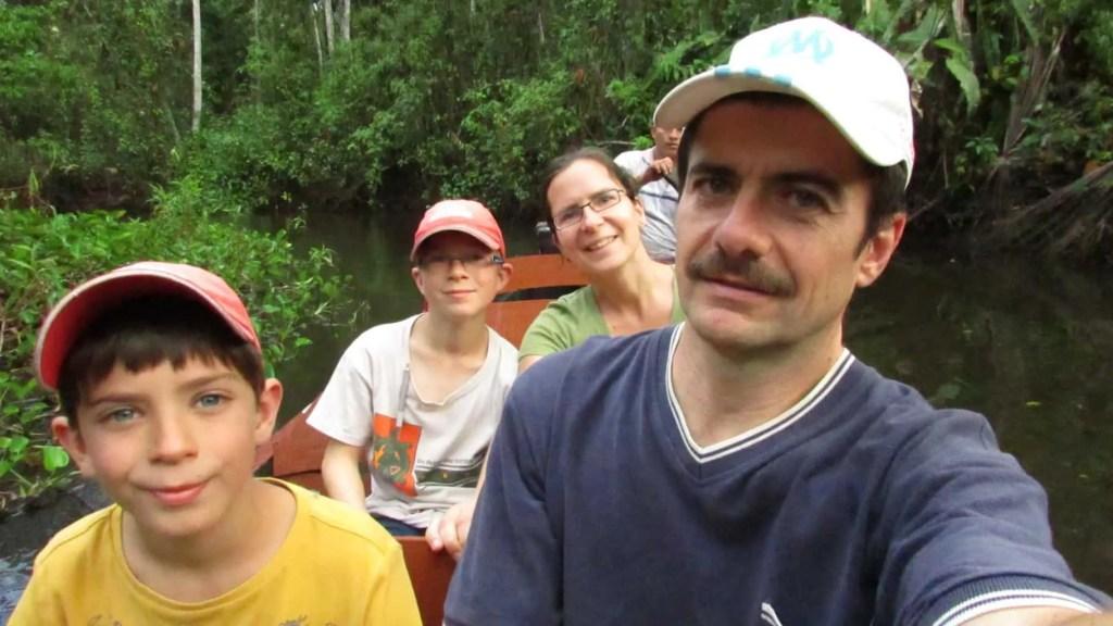 Les Capel au Pérou