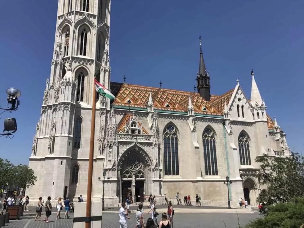 Que visiter à Budapest-Eglise Matthias