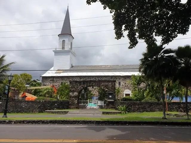 eglise Mokuaikaua Kona Hawaii