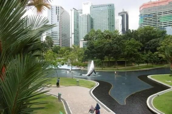 Kuala Lumpur Malaisie Famille nomade digitale