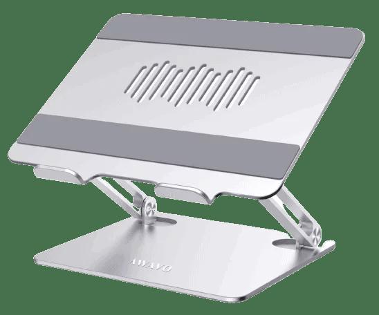equipement indispensable pour nomade digitale - support ordinateur