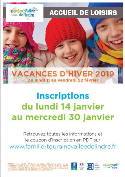 VACANCES HIVER 2019