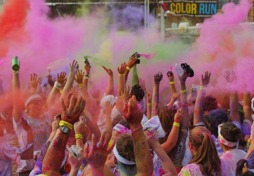 100 choses color run