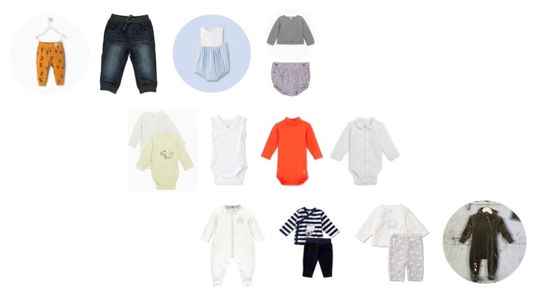 vêtements bébé indispensables
