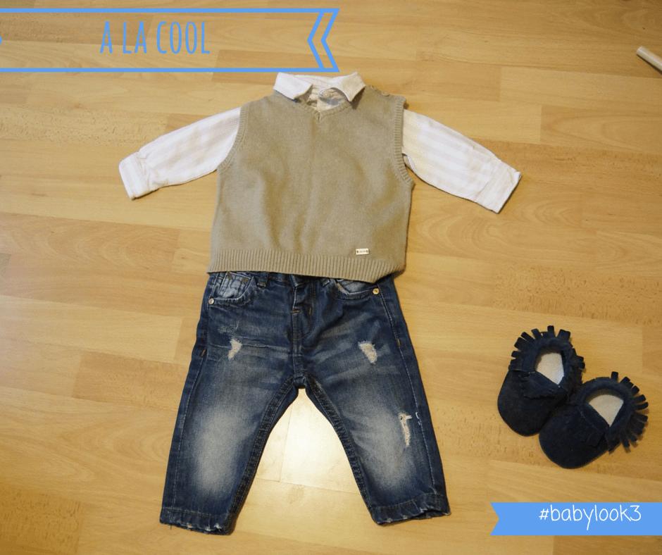 body-chemise Gocco jean bébé zara BABY LOOK #3 a la cool
