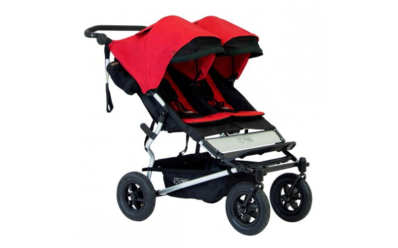 poussette double cote a cote Duet Moutain Buggy
