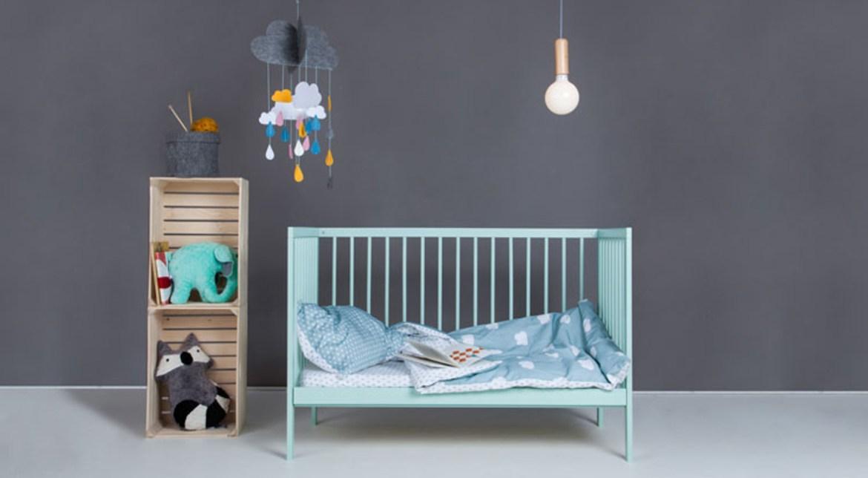 chambre mint pour bébé