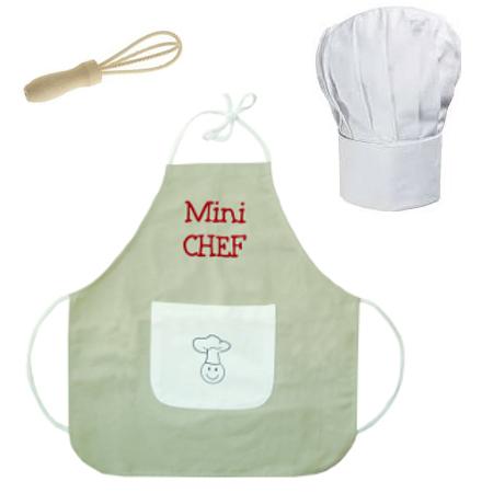 déguisement bébé chef cuisinier
