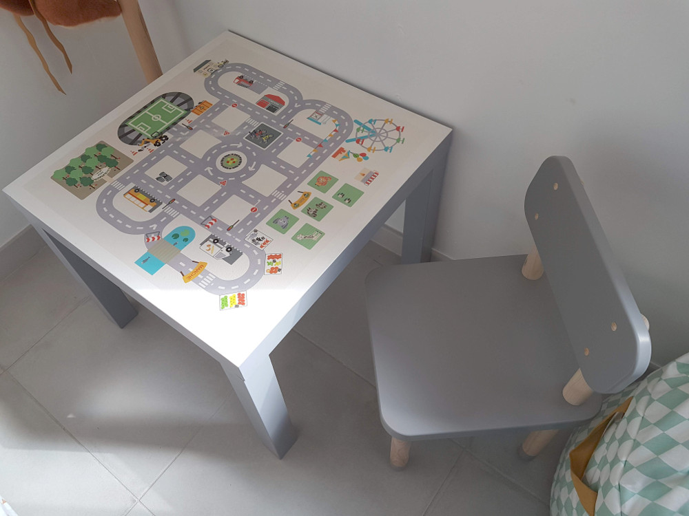ikea table lack hack relooking