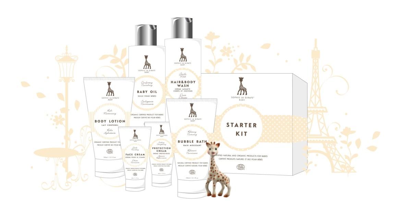 cosmétiques bébé sophie la girafe baby test avis gamme