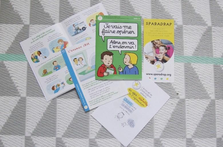 informer enfant avant hospitalisation opération association Sparadrap