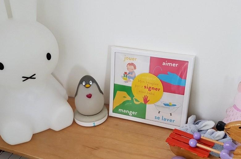 Bébé signe expérience langage des signes pour bébé avis