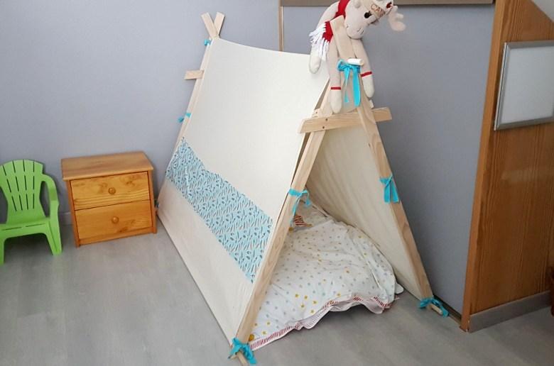 construire un lit tipi diy