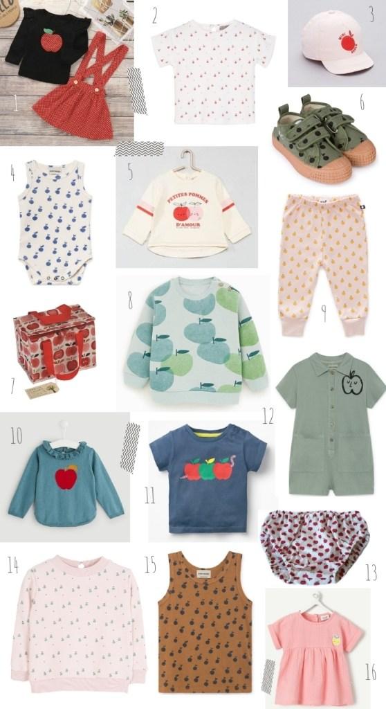 tendance pomme bébé sélection