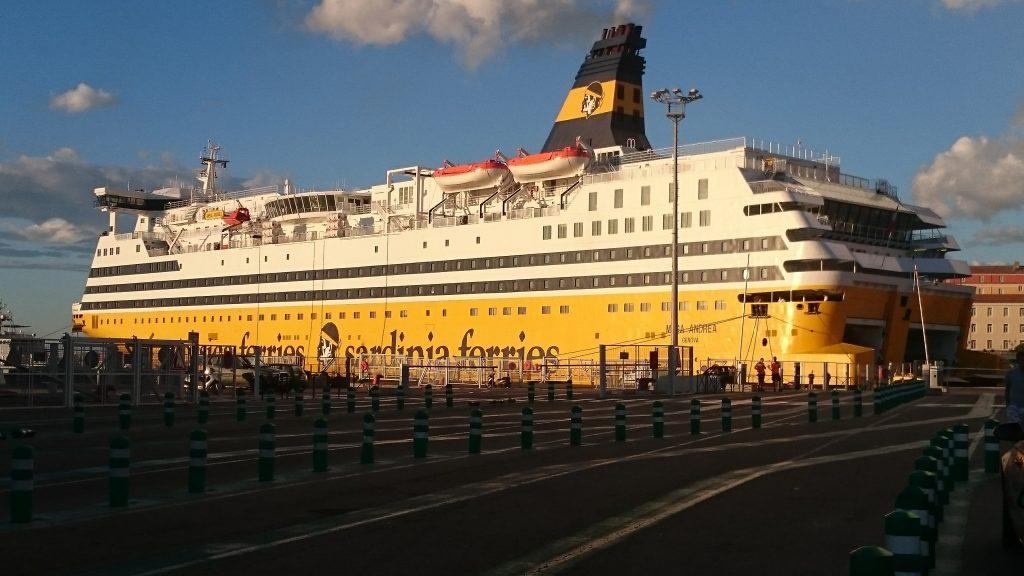 Corsica Ferries au port de Bastia