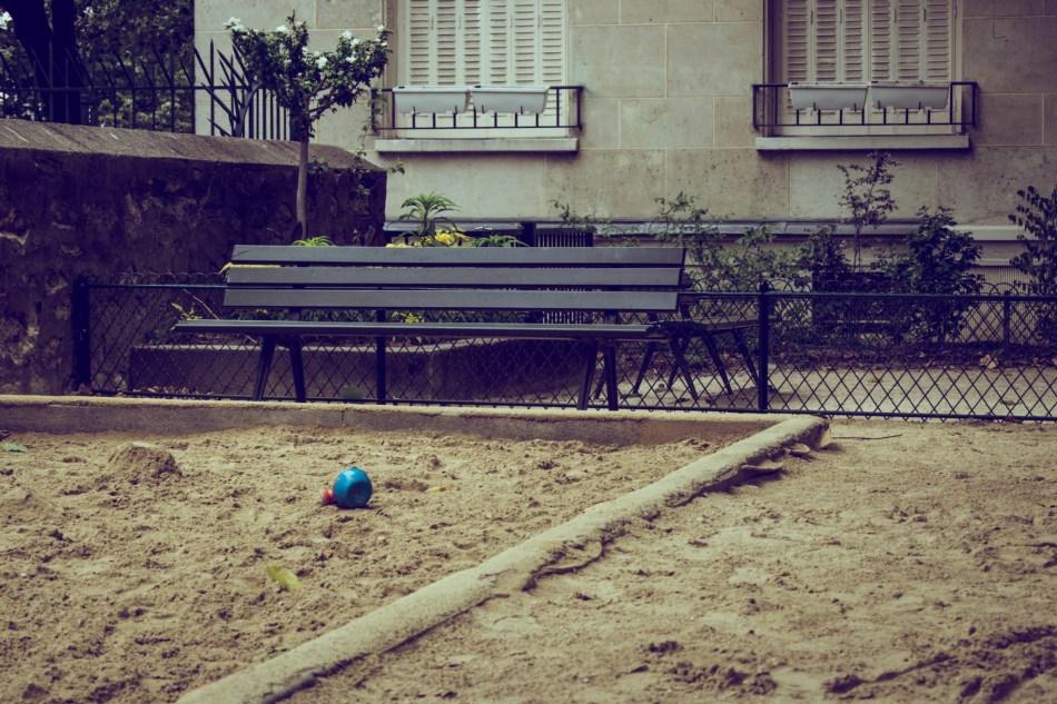 Square à Montmartre
