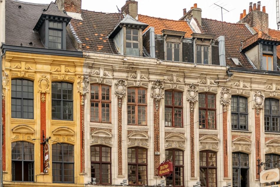 façade d'immeuble à Lille