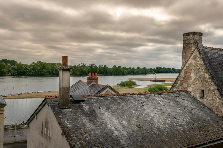 Vue sur la Loire depuis le Thoureil