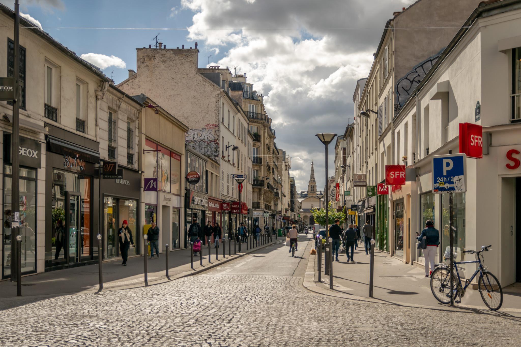rue quartier Grenelle