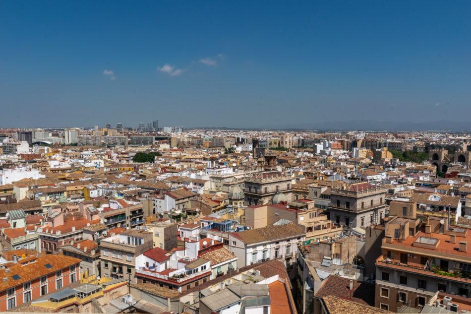 Vue sur Valencia