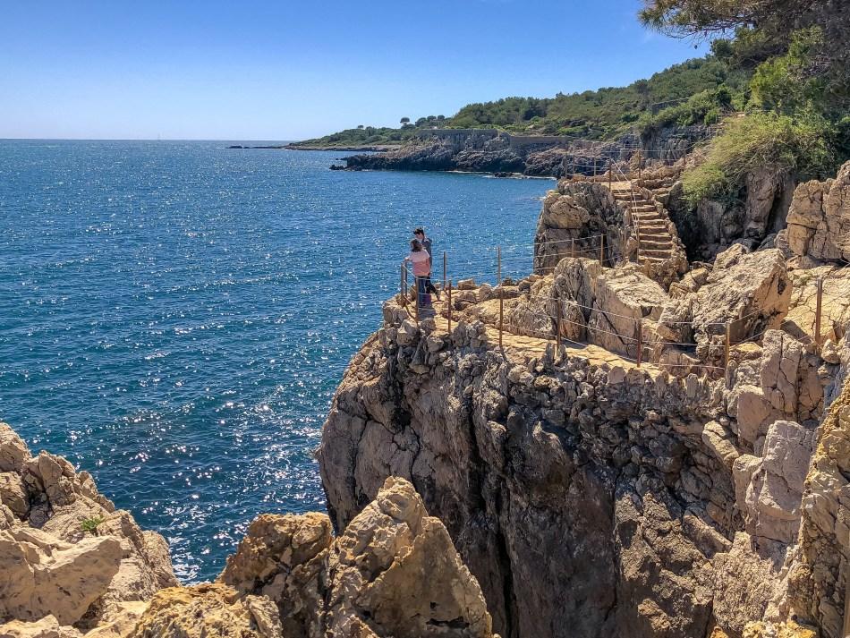 Chemin sur le Cap d'Antibes