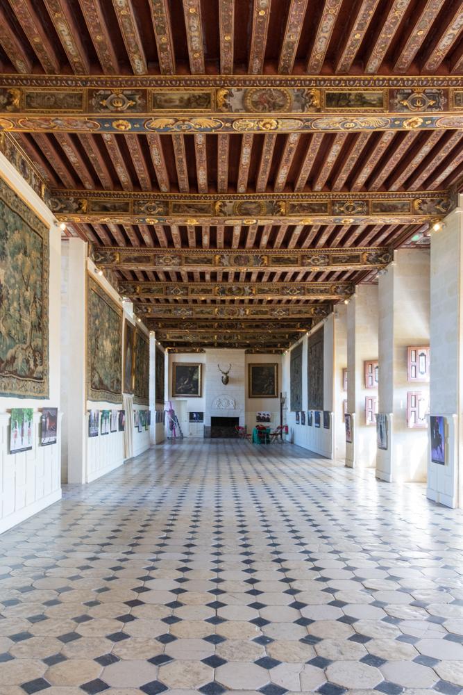 grande galerie du chateau