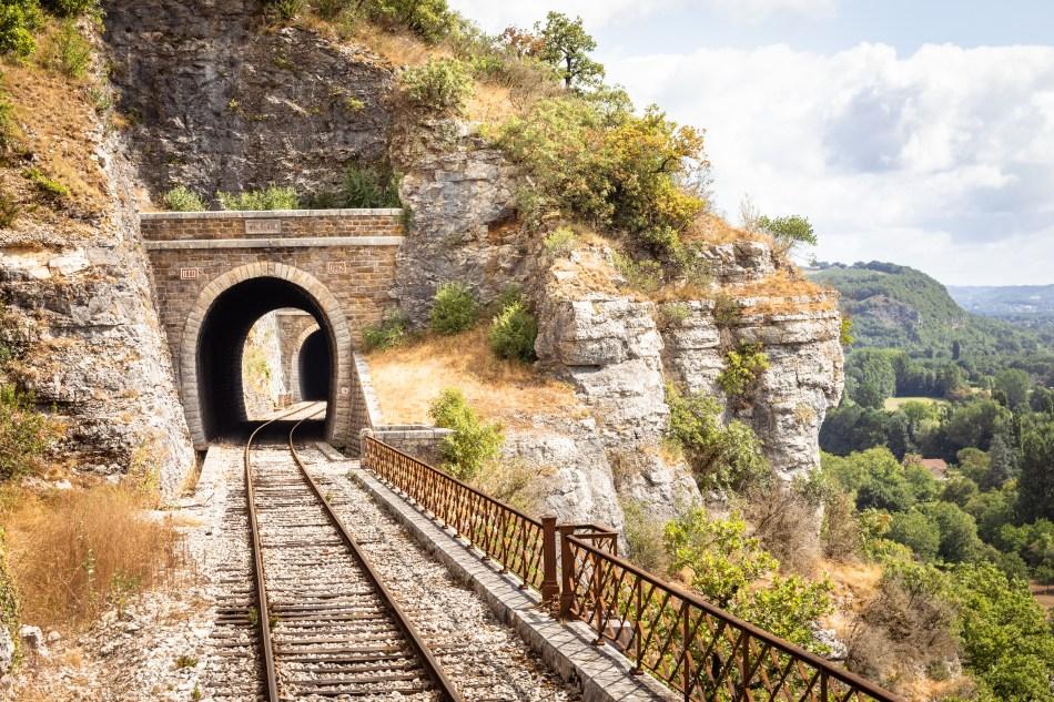 Tunnel voie ferrée