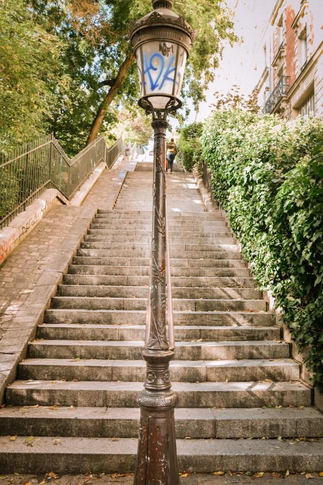 Escalier de Montmartre
