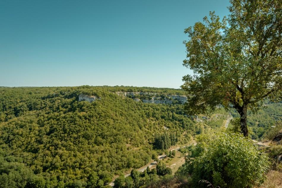 paysage vallée de la dordogne