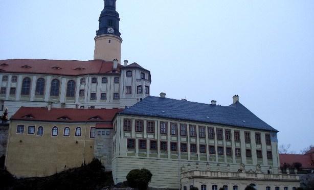 Schloss Weesenstein bei Dresden: Der Pferdestall im fünften Stock