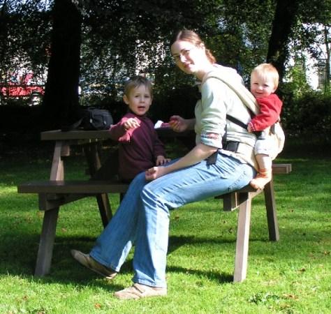 2007 mit Baby und Kleinkind nicht in Schottland, sondern im Exmoor. War auch schön.