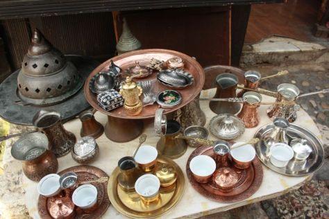 Sarajevo, Kaffeeservice aus Kupfer