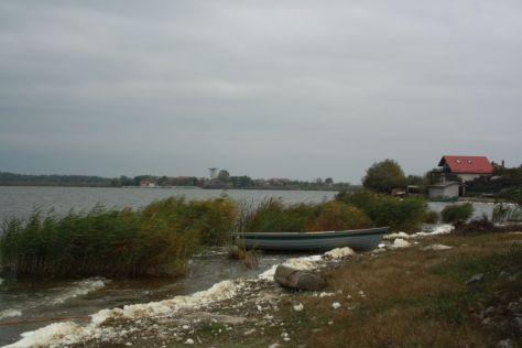"""Im Donaudelta ist das Wasser nie weit. Das """"Flussufer"""" von Murighiol."""