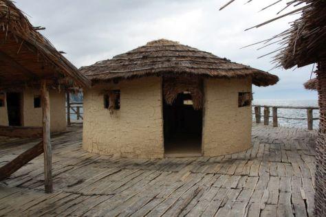 Freilichtmuseum Ohrid, Mazedonien, Pfahlbau