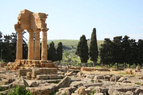 Dioskuren-Tempel in Agrigento, Sizilien